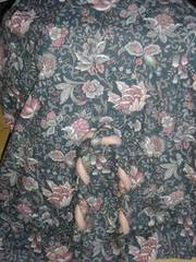 Curtains (Blue Floral) & ties